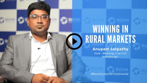 Anupam Satpathy, Head of Marketing, Crop Care at Mahindra Agri