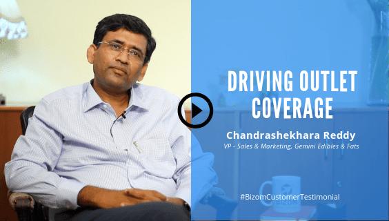 Chandrashekhara Reddy from Gemini Edibles & Fats