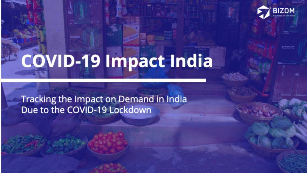 Tracking Impact on Demand in India due to Covid-19 Lockdown